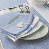 The White Company Ribbed Placemats - Set of 4