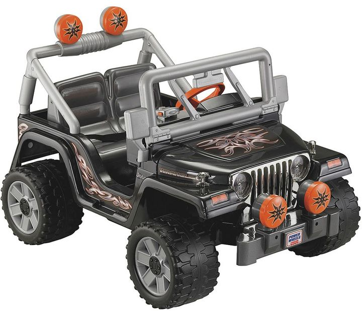 Fisher-Price Power Wheels Tough Talkin' Jeep Ride-On by