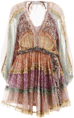 Zimmermann Carnaby Frill Billow Dress