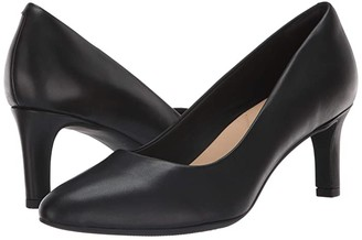 Clarks Calla Rose (Black Leather 2) High Heels