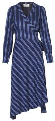 Mads Norgaard Duo Viscosa Duralla Dress Blue - 34 / Blue
