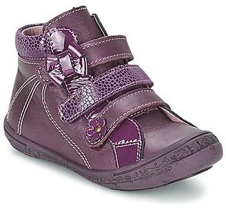 Citrouille et Compagnie FALIE girls's Mid Boots in Purple