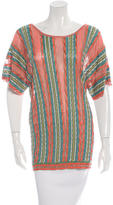 M Missoni Knit Multi Colored Top