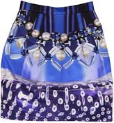Mary Katrantzou Blue Silk Skirt for Women