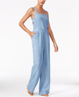 Jessica Simpson Wide-Leg Chambray Jumpsuit