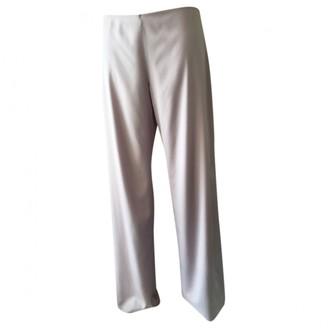 La Perla Purple Silk Trousers for Women
