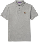 Ralph Lauren Purple Label Mercerised Cotton-piqué Polo Shirt
