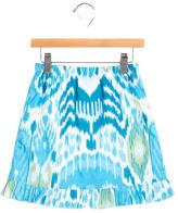 Oscar de la Renta Girls' Printed Skirt