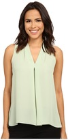 Vince Camuto Blouse with Inverted Front Pleat