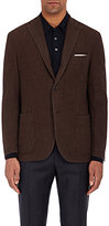 Boglioli Men's Wool Sportcoat-RED