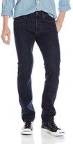 G Star Men's Attacc Slim Straight Fit Jean In Tunnel Denim Dark Aged, 34x32