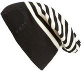 Marc Jacobs Women's Striped Hat - Black