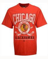 Majestic Men's Chicago Blackhawks Vintage Five on Five T-Shirt