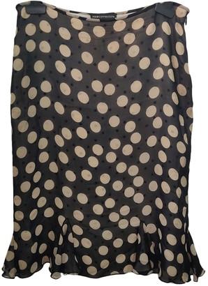 Nice Connection Black Silk Skirt for Women