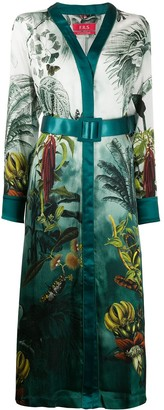 F.R.S For Restless Sleepers Botanical Print Dress