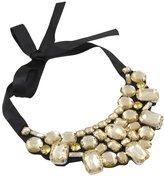 Karatcart Sabreen Gold Fashion Collection Statement Necklace For Women