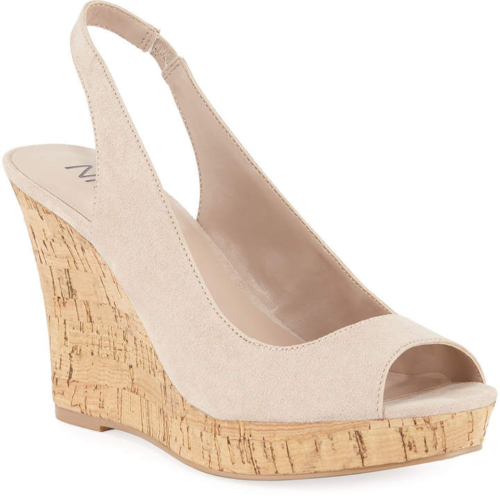 330780b7e7 Nude Cork Wedges - ShopStyle