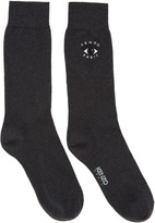 Kenzo Grey Eye Socks
