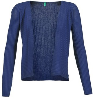 Benetton ITINE women's Cardigans in Blue