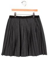 Bonpoint Girls' Wool-Blend Pleated Skirt