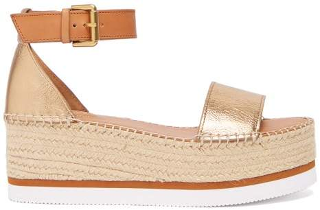 37f96e702 Leather Espadrilles Chloé - ShopStyle