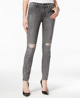 GUESS Distressed Acid Wash Skinny Jeans