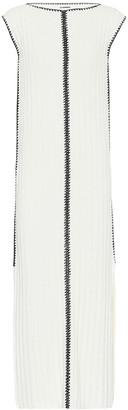 Jil Sander Knitted silk maxi dress