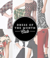 Unique Vintage Dress of the Month Club Membership