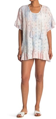 Surf.Gypsy Eyelet Embroidered Coverup
