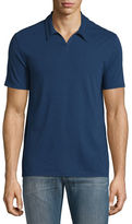 John Varvatos Johnny-Collar Short-Sleeve Polo Shirt