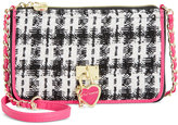 Betsey Johnson Flap Compartment Crossbody, Only At Macy's