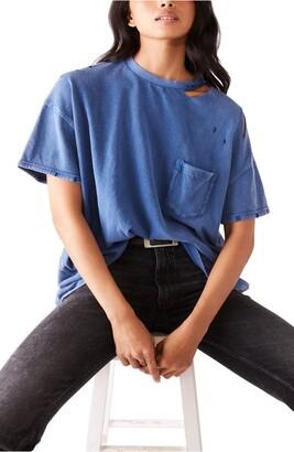 Free People Rubi Ripped Pocket T-Shirt