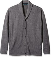 Perry Ellis Men's Big and Tall Shawl Collar Cardigan