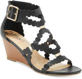 XOXO Scottie Wedge Dress Sandals