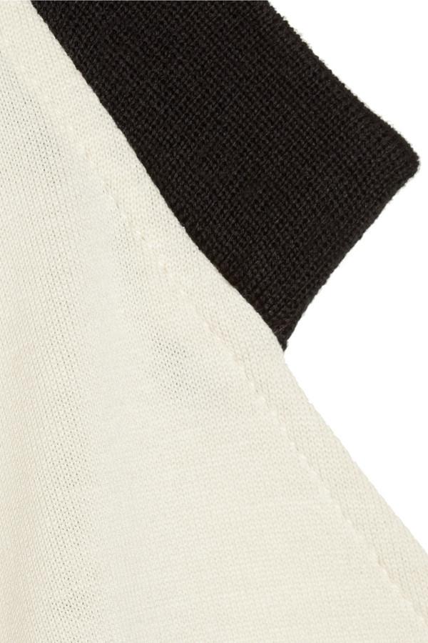 Marni Cutout-back cotton-jersey shift dress