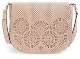 Tory Burch 'Zoey' Saddle Bag - Pink
