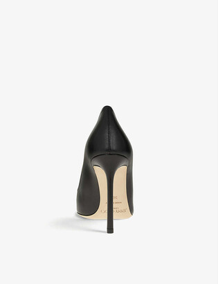 Jimmy Choo Romy 100 leather courts