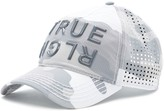 True Religion Camo Perforated Baseball Cap