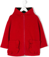 Simonetta hooded coat