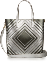 Anya Hindmarch Diamonds Featherweight Ebury leather tote
