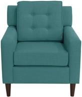 Chorley Armchair Gracie Oaks Upholstery: Linen Laguna