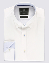 Limited Edition 2in Longer Cotton Rich Tailored Fit Classic Collar Shirt