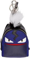 Fendi Blue Mini Backpack Keychain