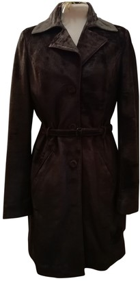 Non Signé / Unsigned Non Signe / Unsigned Brown Leather Coats