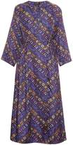 Isabel Marant Tizy printed silk midi dress