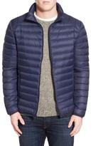 Schott NYC Men's Quilted Down Jacket