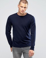 Jack & Jones Premium Slim Merino Crew Knit Jumper
