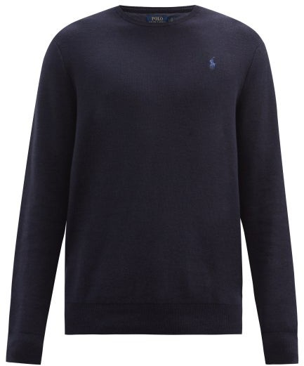04ca330f062cb3 Mens Crew Neck Sweaters Polo - ShopStyle