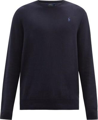 Polo Ralph Lauren Pima Cotton Sweater - Mens - Navy