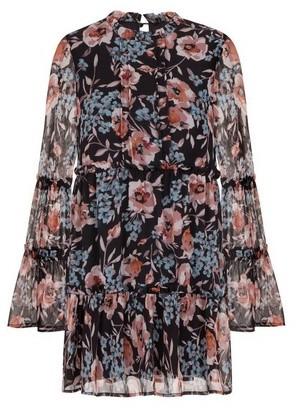 Dorothy Perkins Womens *Girls On Film Floral Print Shift Dress